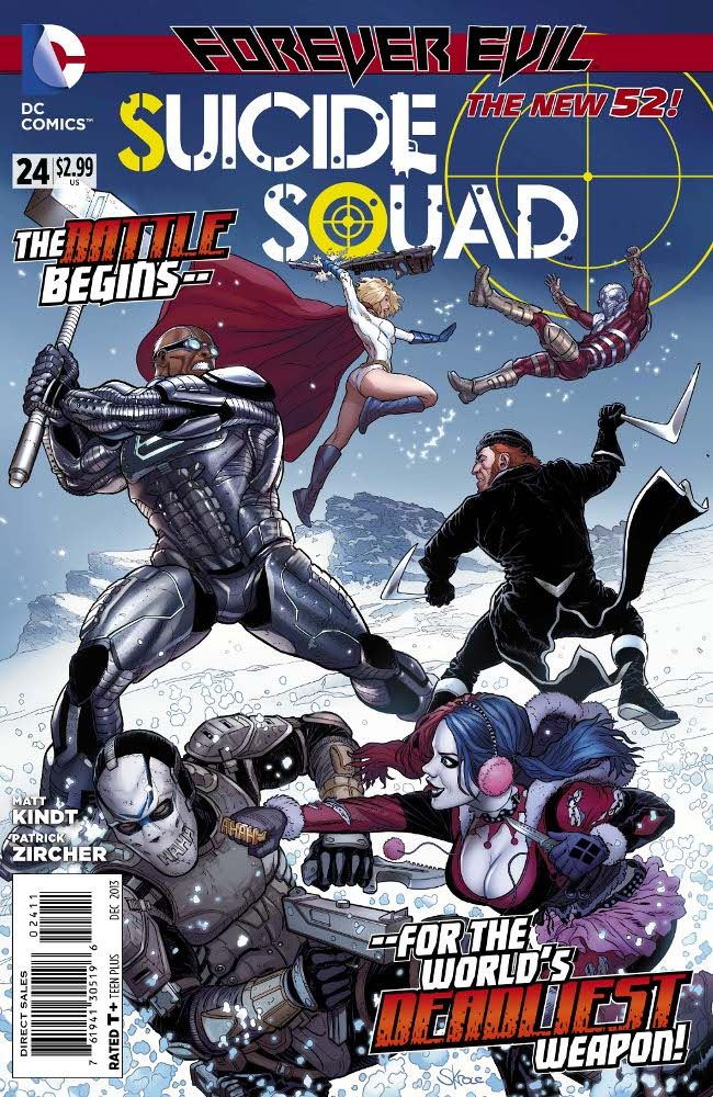 SUICIDE SQUAD #24 review