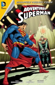 ADVENTURES OF SUPERMAN #24 review