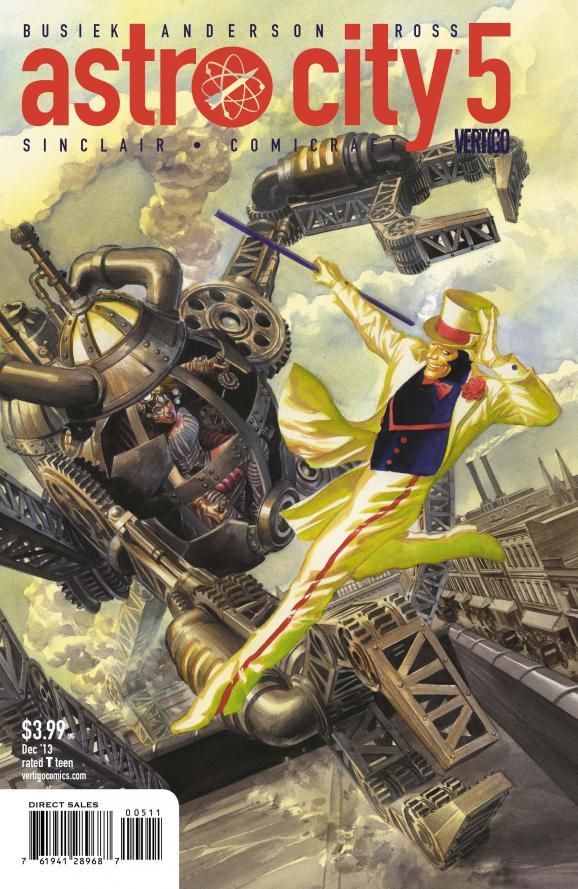 ASTRO CITY #5 review