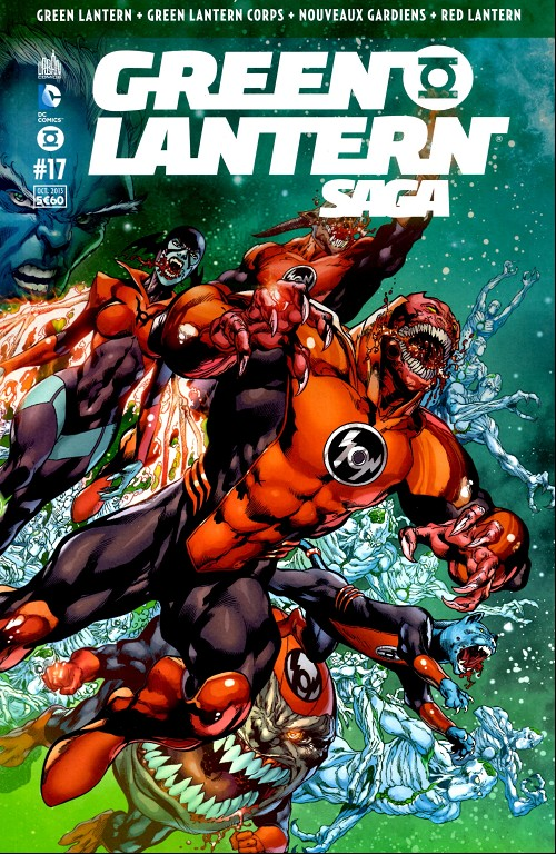 Critique Green Lantern Saga #17