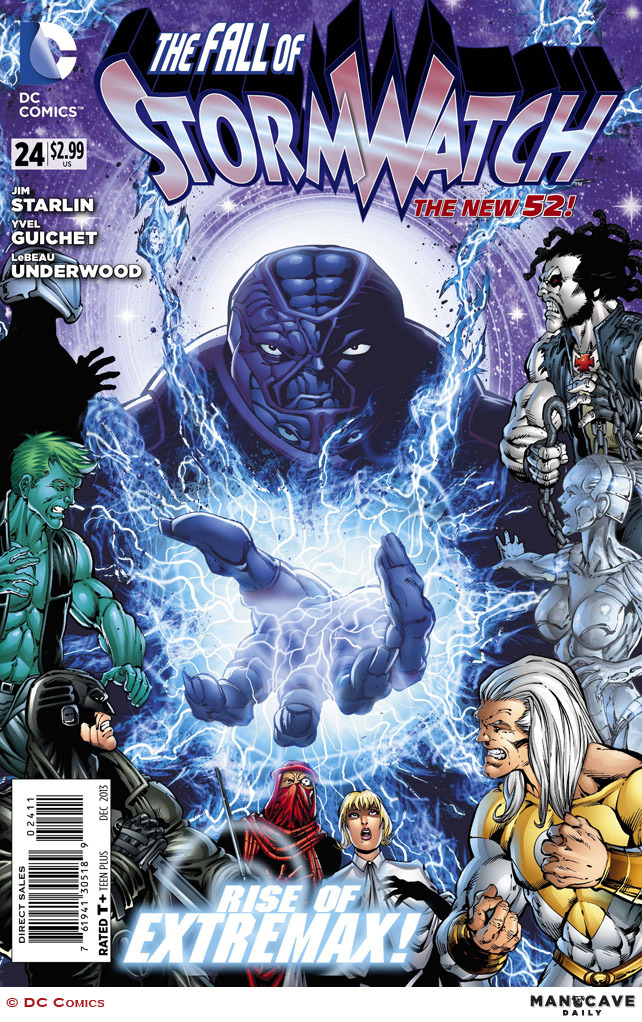 STORMWATCH #24 review