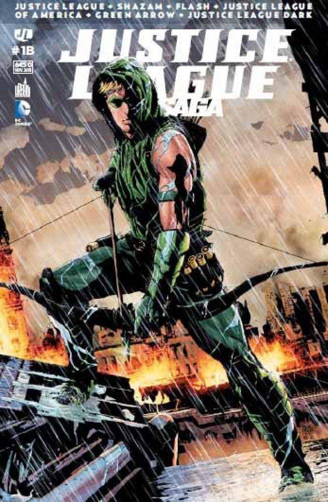 Review Justice League Saga #1