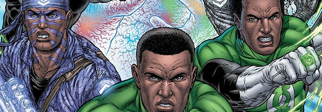 Green Lantern Corps #18 review