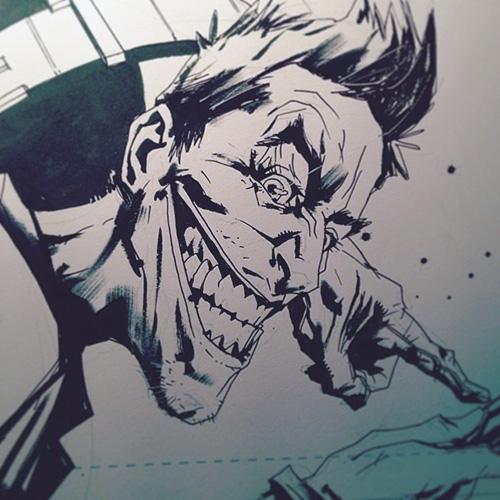 Dc fan arts 78 - Le joker dessin ...