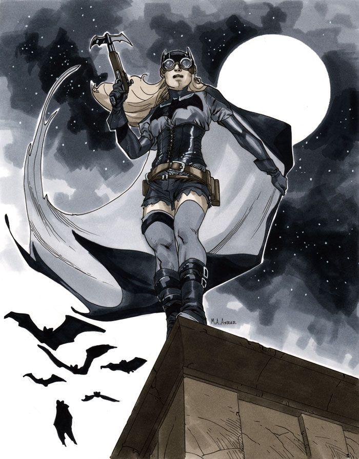 [Golden Month] Time Commander by Gaslight [Libre] Batgirl-steampunk
