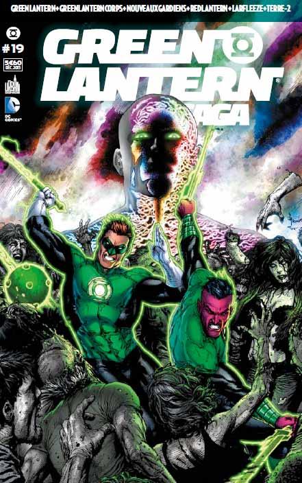 Review Green Lantern Saga #19