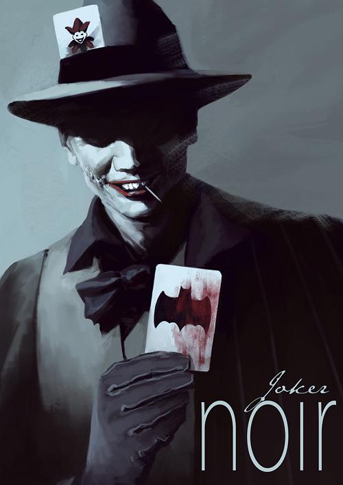 joker noir
