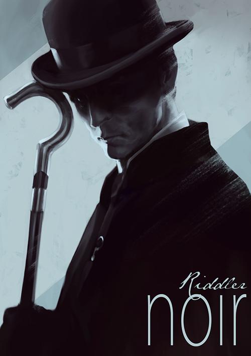 the riddler noir
