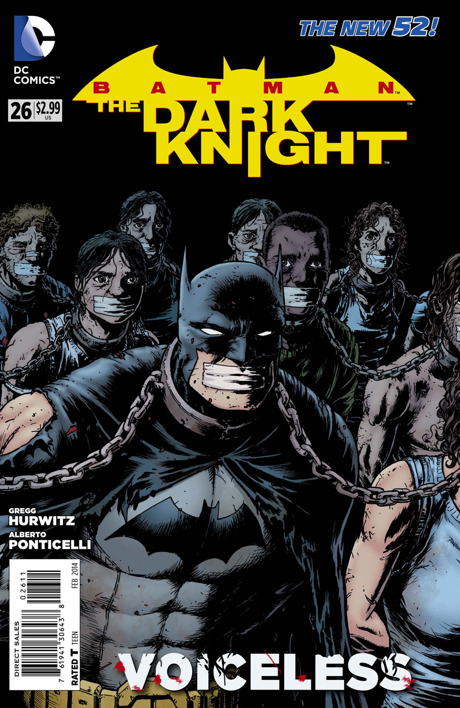 BATMAN: THE DARK KNIGHT #26 review