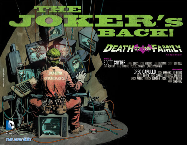 Joker : Death of the Family (TPB)