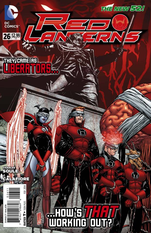 RED LANTERNS #26 review