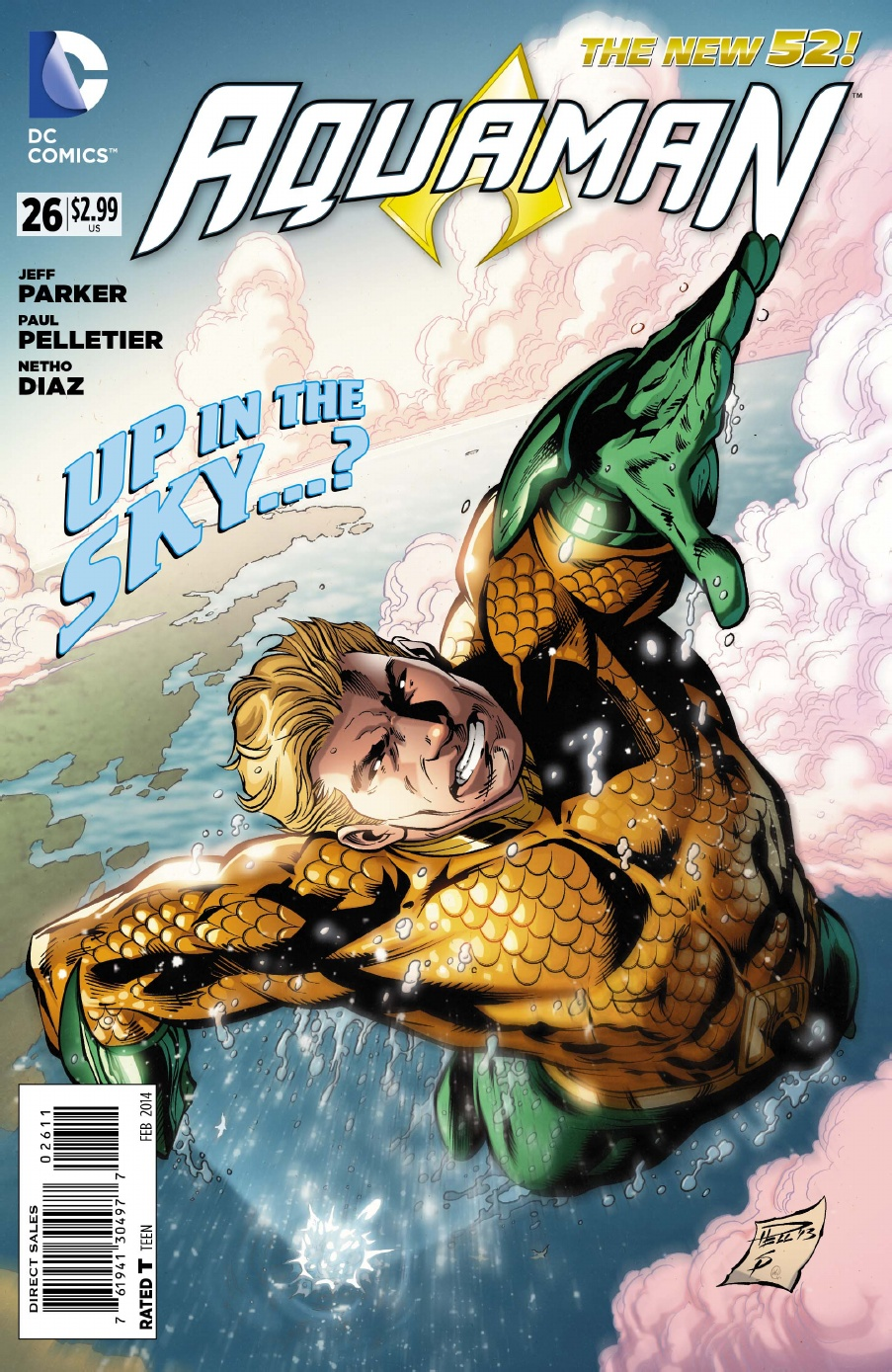 AQUAMAN #26 review