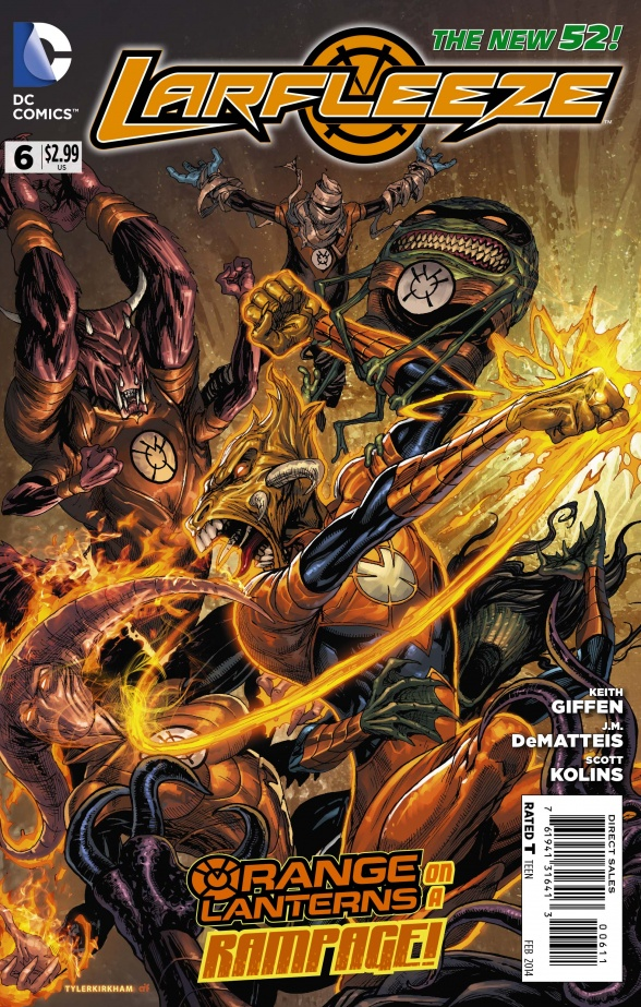 LARFLEEZE #6 review