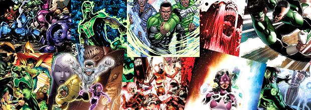 Deux ans de Green Lantern Univers