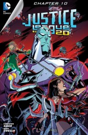 JUSTICE LEAGUE BEYOND 2.0 #10 review