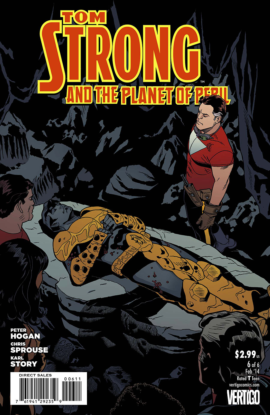 TOM STRONG AND THE PLANET OF PERIL #6 review
