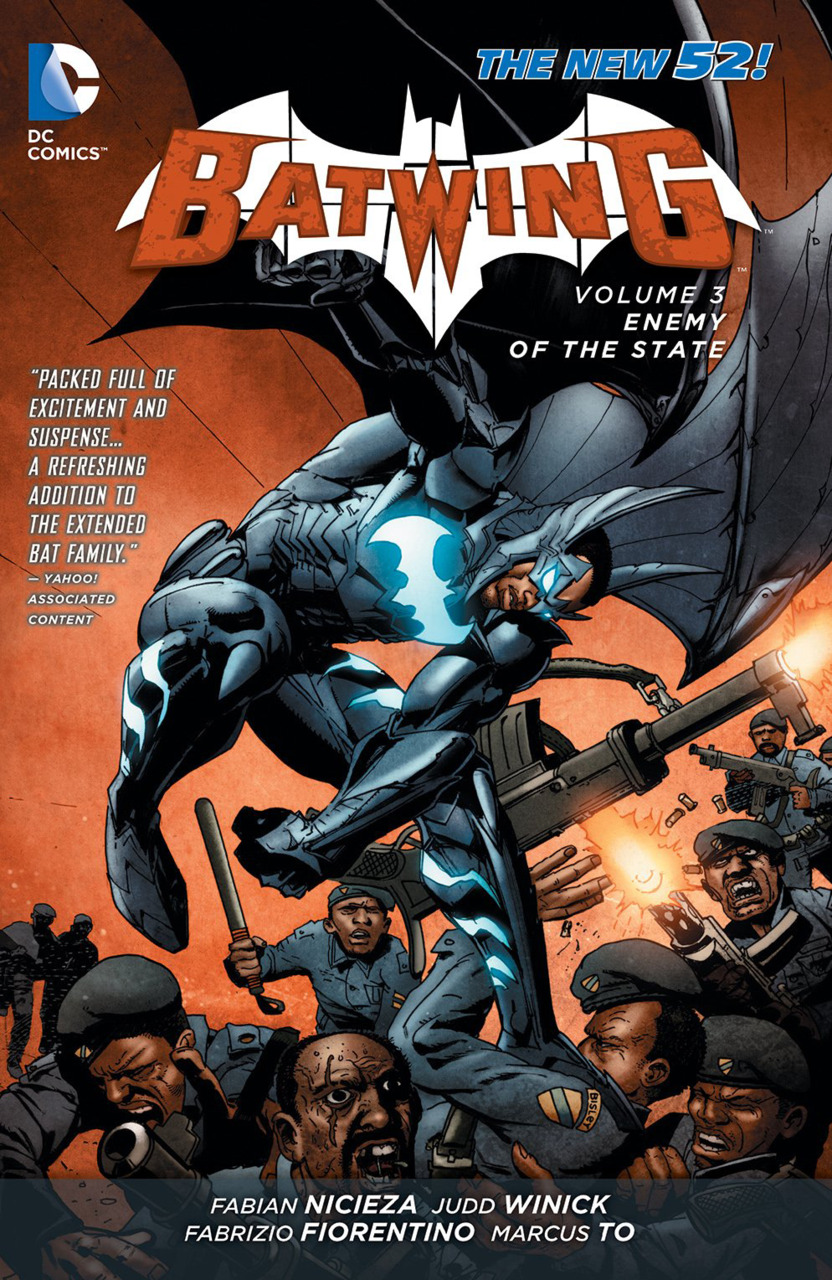 Batwing Vol. 3 : Enemy of the State