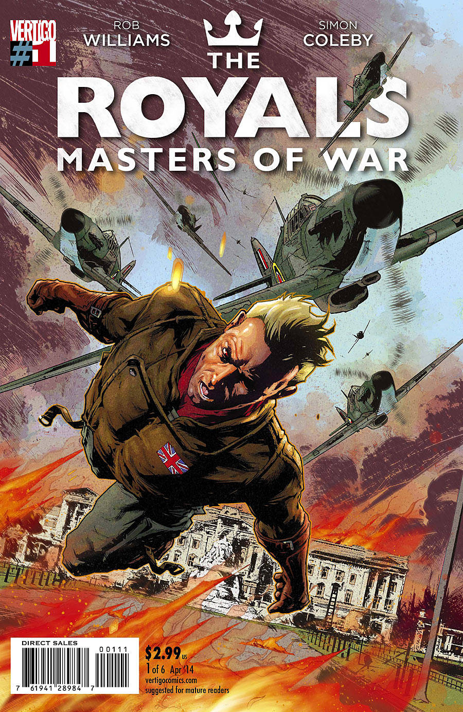 Critique de The Royals : Masters of War #1