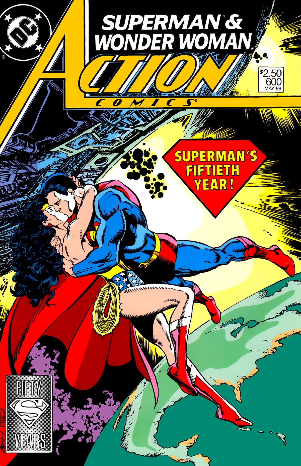Action Comics #600 Variant