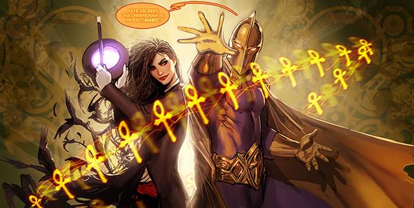 Zatanna et Dr. Fate