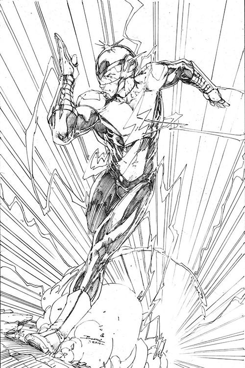 The Flash Line Art : Dc fan arts dcplanet