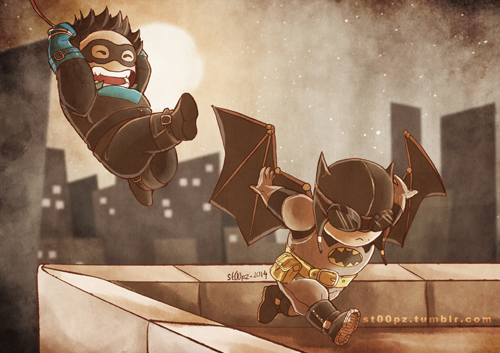 Nightwing et Batman
