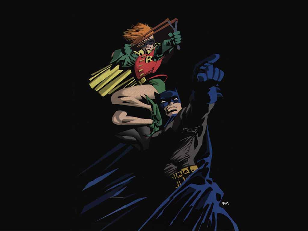 Batman et Robin Frank Miller