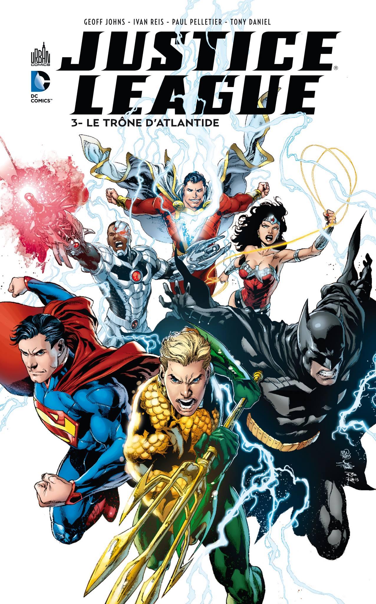 Critique de Justice League - Le Trône d'Atlantide