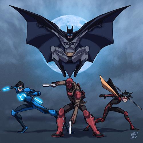 bat_family_revised_by_ericguzman