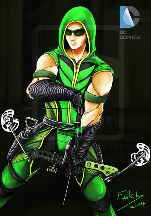green_arrow_from_smallville_by_fahad_naeem