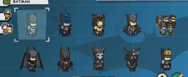Dossier - Batman dans les Jeux Vidéo - Scribblenauts Unmasked