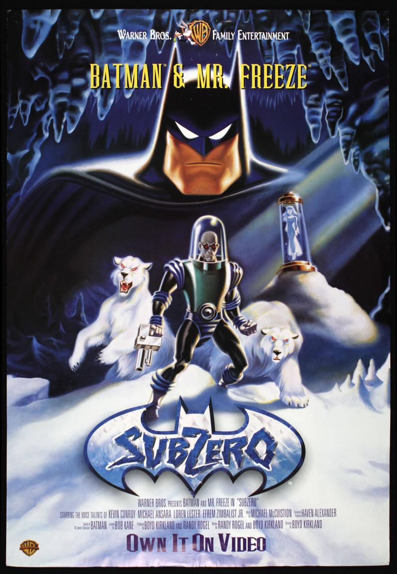 Batman Mr Freeze - Subzero - jaquette