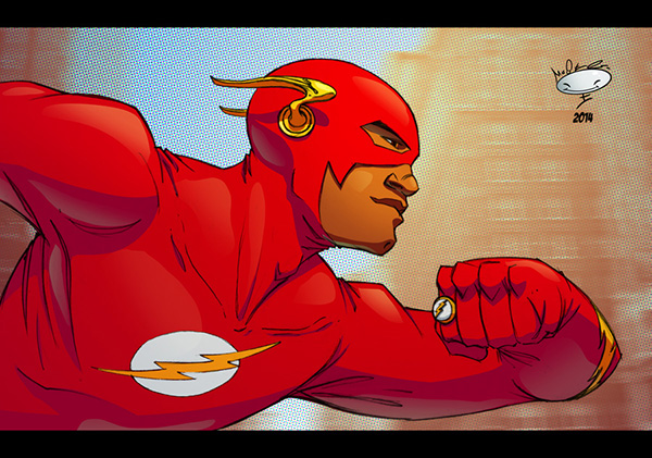 the_flash_by_adammasterman