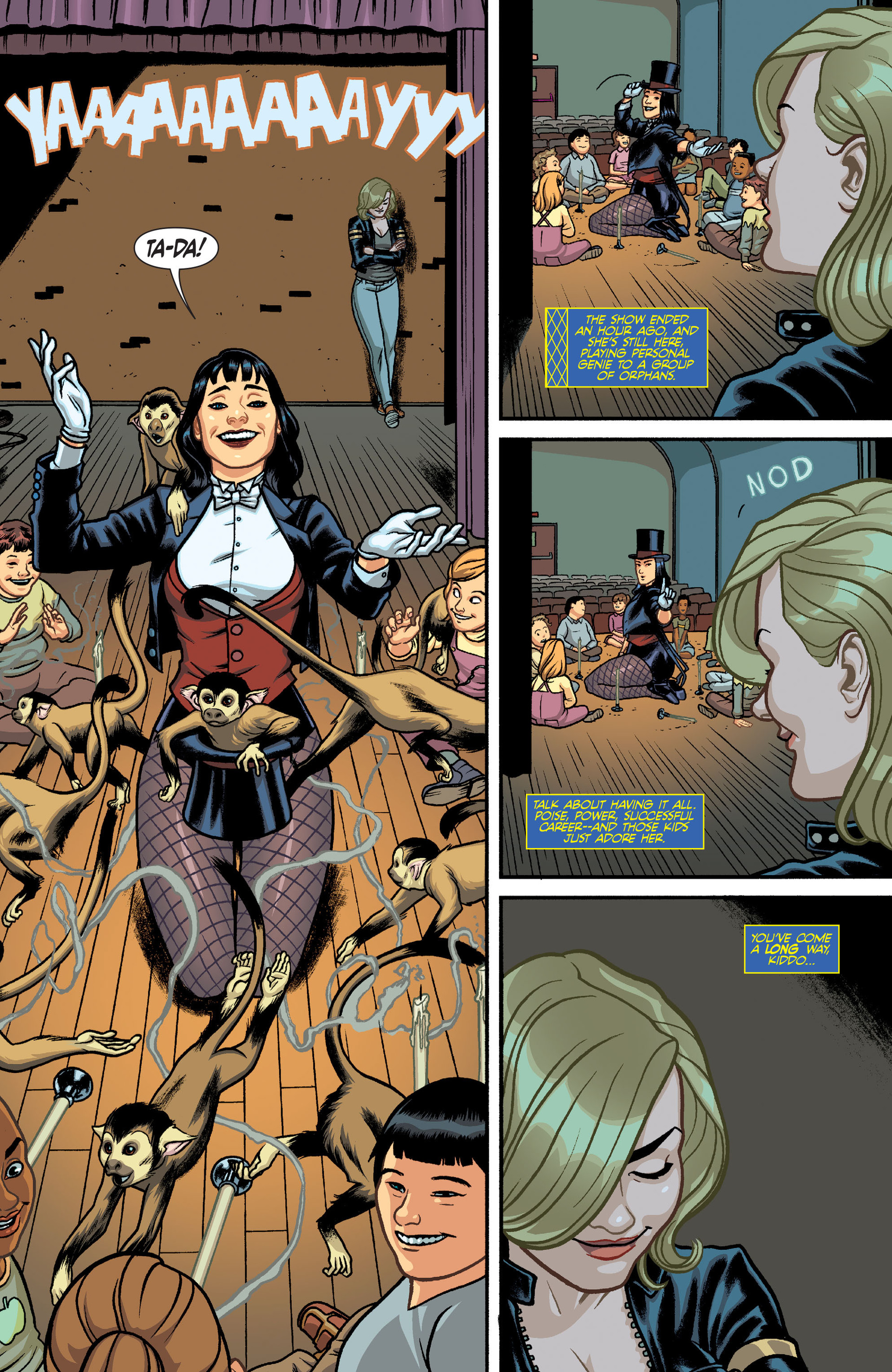 [Review VO] Black Canary and Zatanna : Bloodspell ...