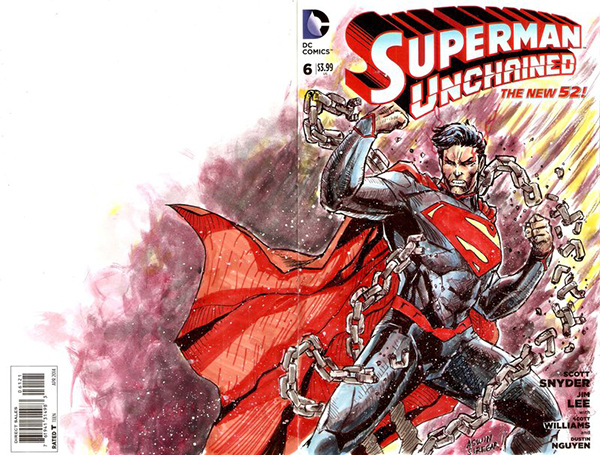 superman_unchained_blank_cover