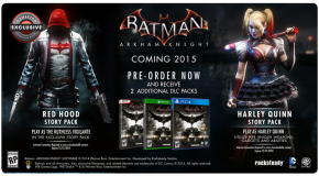 Red Hood jouable dans Batman : Arkham Knight