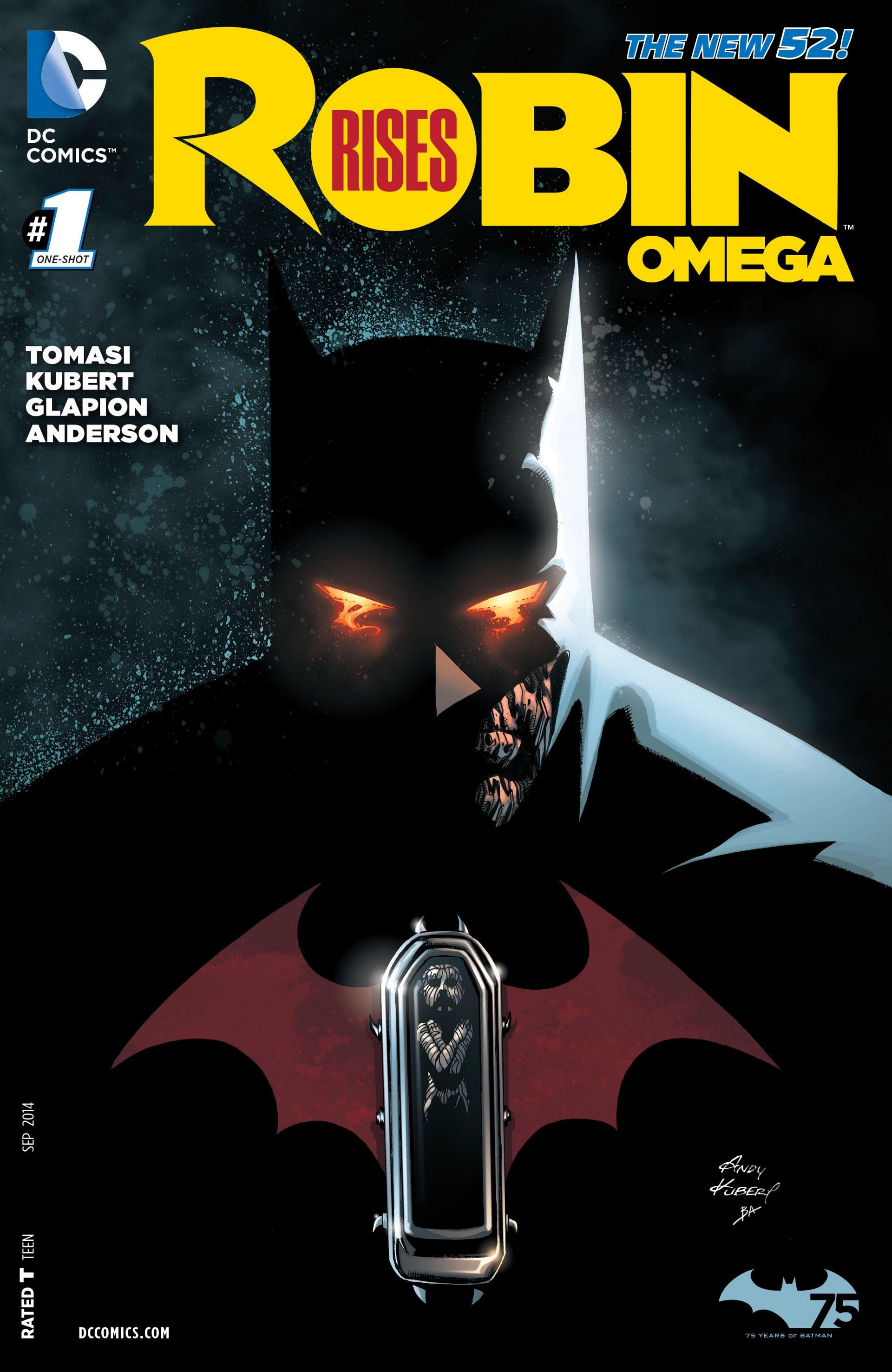 Robin Rises : Omega #1