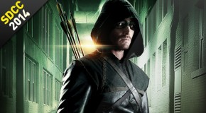 SDCC 2014 : Recap Panel Arrow