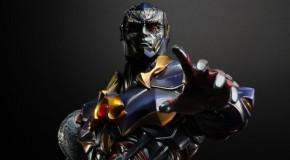 Visuels des Play Arts Kai Hawkman et Darkseid