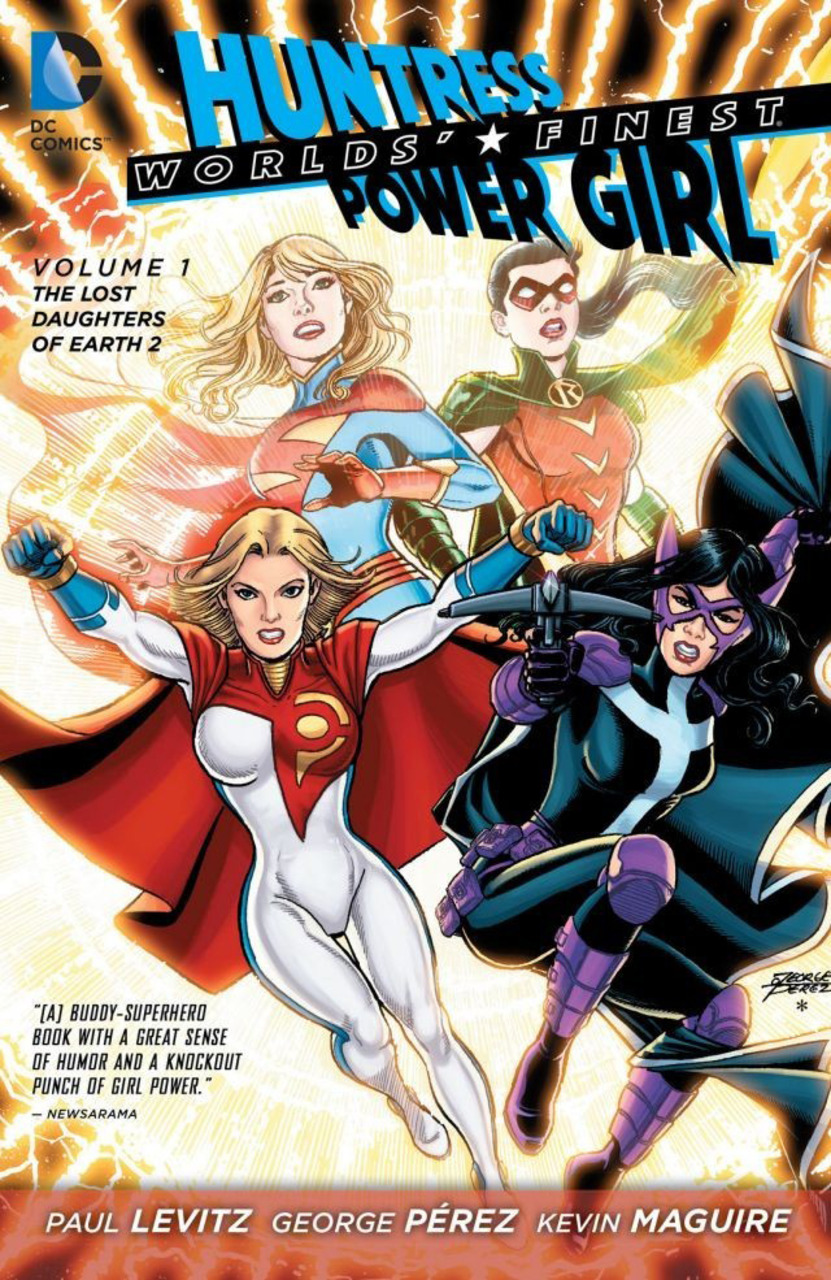 Worlds' Finest Vol. 1 : The Lost Daughters of Earth 2