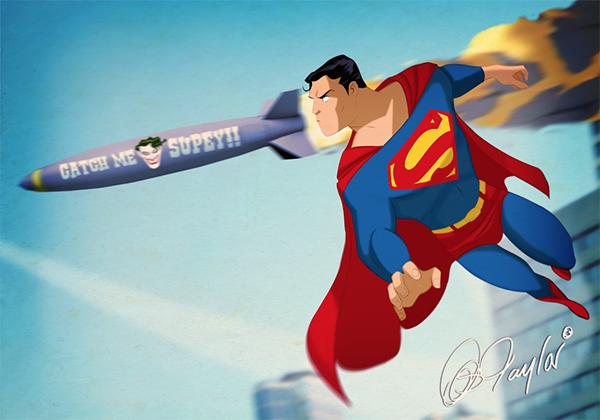 Dc fan arts 115 - Signe de superman ...