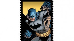 NYCC 2014 – Qui veut des timbres Batman ?