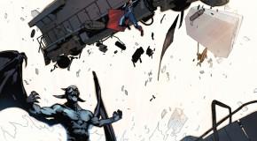 Une couverture variante pour Batman/Superman #15