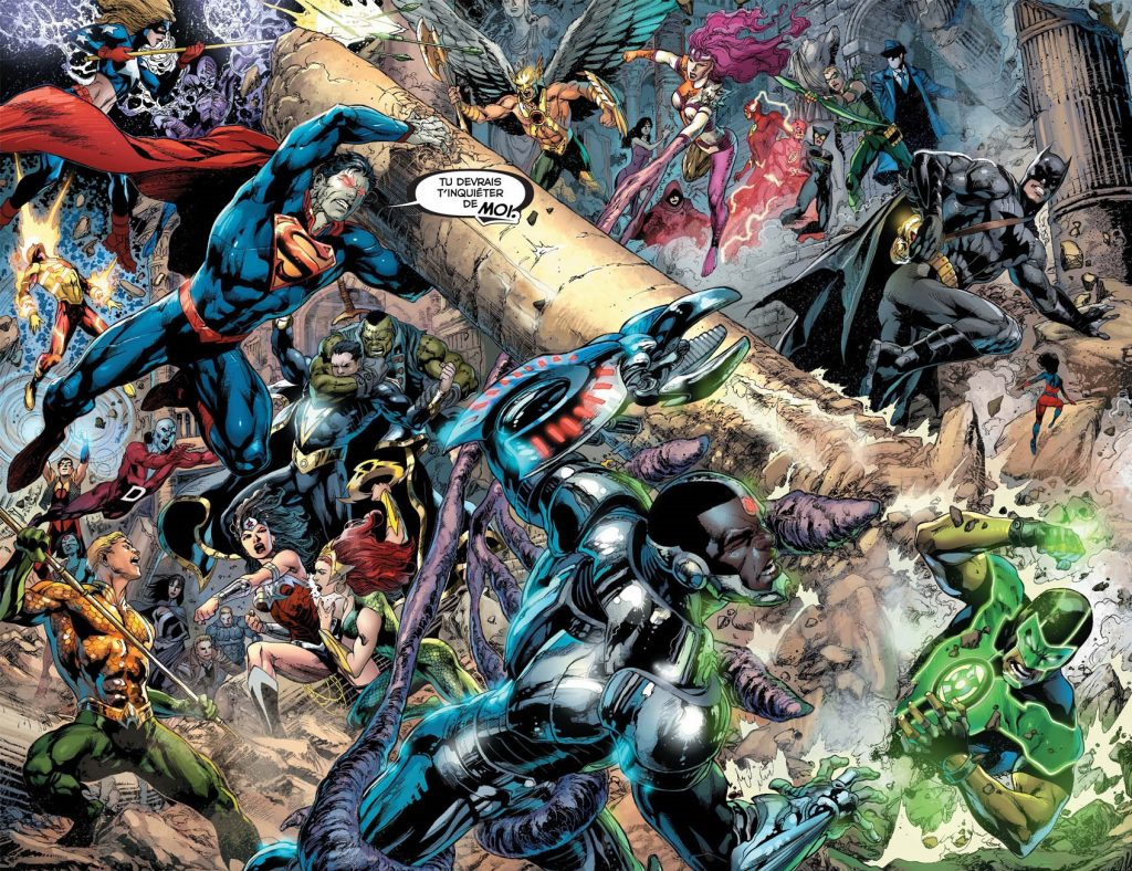 Review Justice League Tome 5