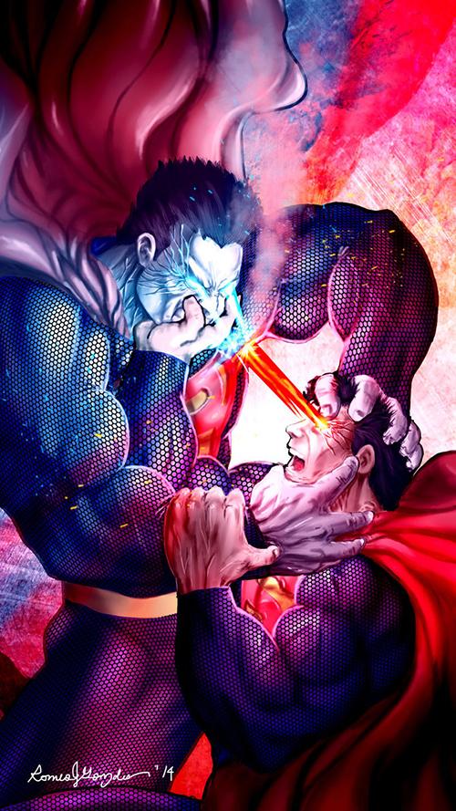 superman_vs_bizzaro