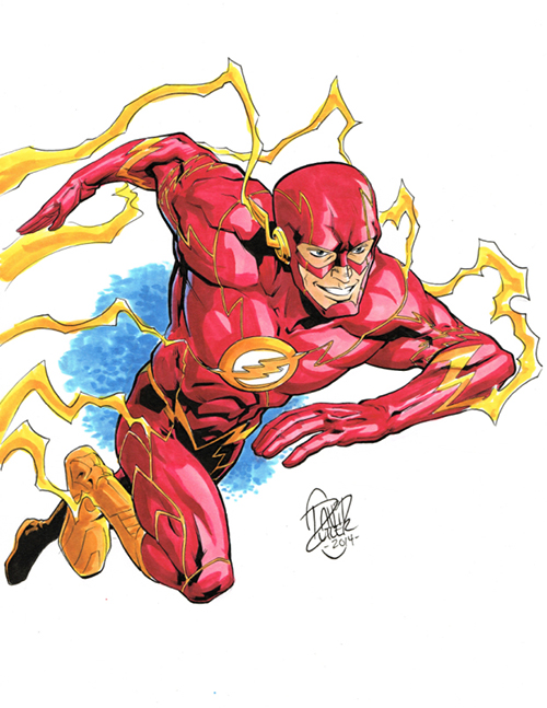 the_flash_commission_by_davidjcutler