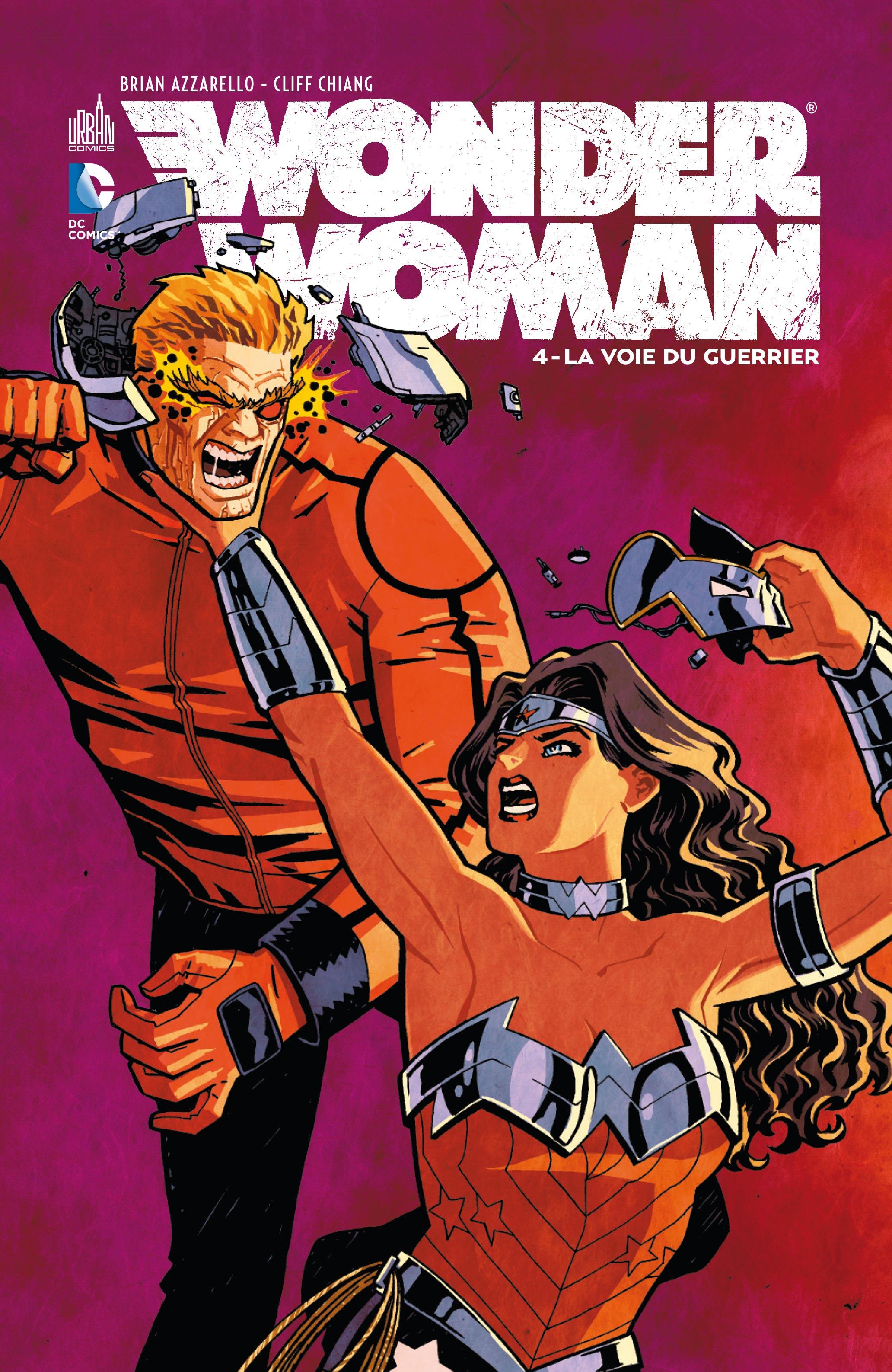 Critique de Wonder Woman Tome 4