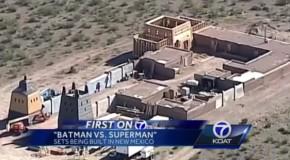 Batman V Superman : Tournage au Nouveau Mexique