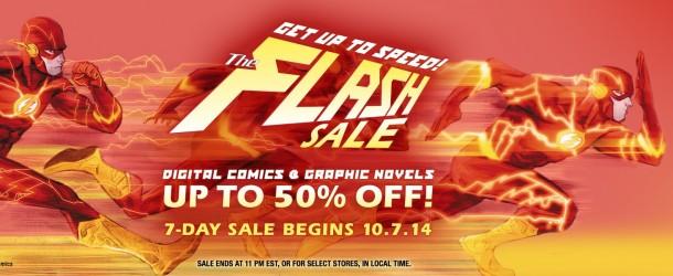 Actualités : DC Planet Flash-sales-comixology-610x250