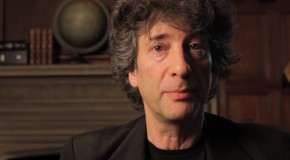 Neil Gaiman en dédicace à Paris